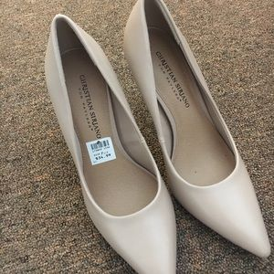 Shoes - Nude pointy high heels